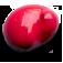 Goutte de peinture acrylique rouge primaire