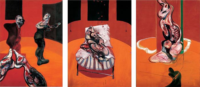 Francis Bacon  artiste peintreCrucifixion Francis Bacon 1965