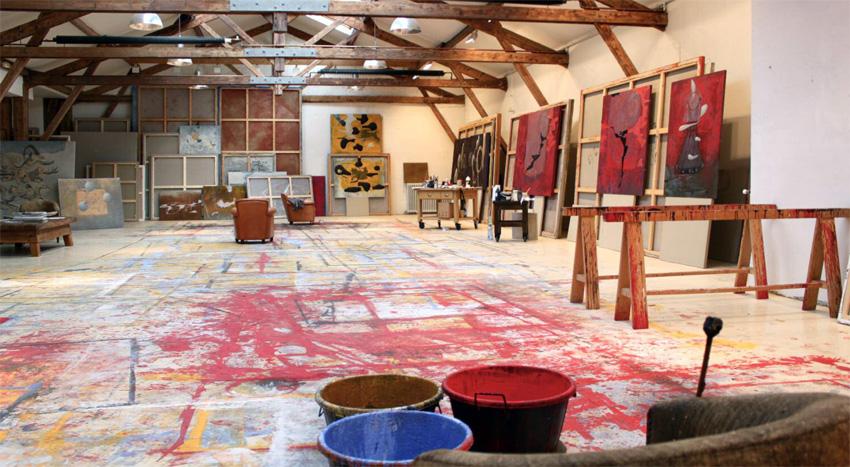 Richard texier peintre contemporain expose la galerie for Atelier du meuble contemporain