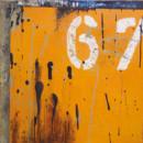 67, tableau contemporain abstraite
