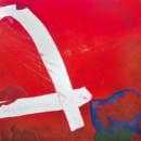 A rouge, peinture contemporaine