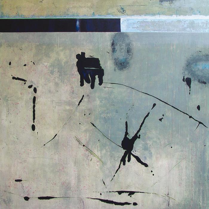 Neon, tableau contemporain du peintre Laurent Marre