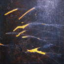 Nuit Blanche 7, peinture abstraite