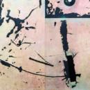 Planète 2, peinture abstraite