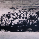 Trace 3, peinture contemporaine