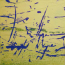 Trace 6, peinture contemporaine