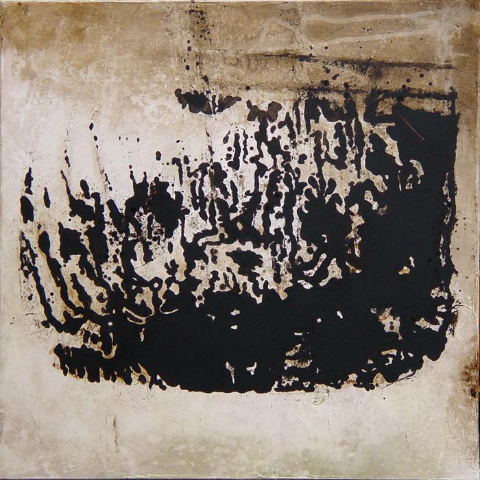 Tableau monochrome sépia contrasté et lumineux
