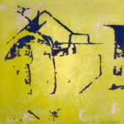 Trace 13, peinture abstraite