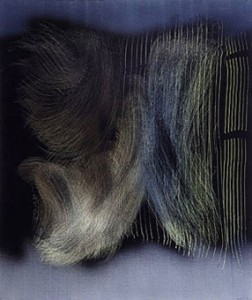 Toile abstraite de Hans Hartung