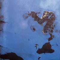 Vue du ciel 4, peinture contemporaine