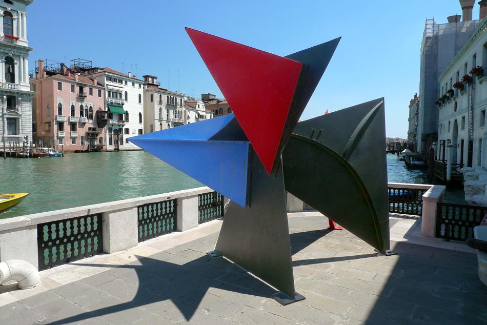 Sculpture d'Alexandre Calder à la Fondation Peggy Guggenheim à Venise