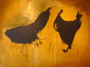 Peinture de Robert Motherwell, 2F, 1958