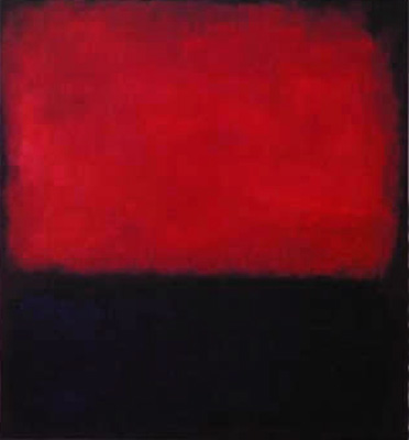 Peinture contemporaine de Mark Rothko 1960