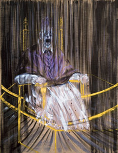 Study after Vélázquez's Portrait of Pope Innocent X - 1953, Francis Bacon