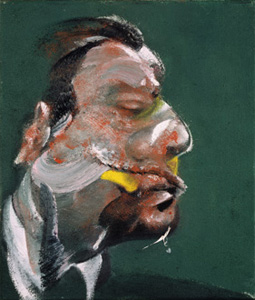 Portrait, Study for Head of George Dyer - 1967