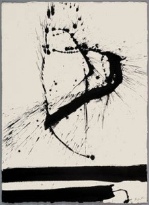 Peinture contemporaine de Robert Motherwell