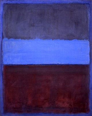 Peinture contemporaine de Mark Rothko