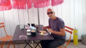 Déjeuner de l'artiste à Saint-Brieuc