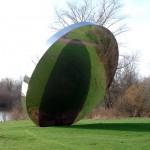 Miror, Hyde Park, sculpture monumentale d'Anish-Kapoor
