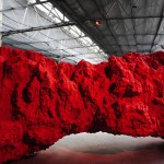 Brighton fruit market, sculpture en cire d'Anish Kapoor