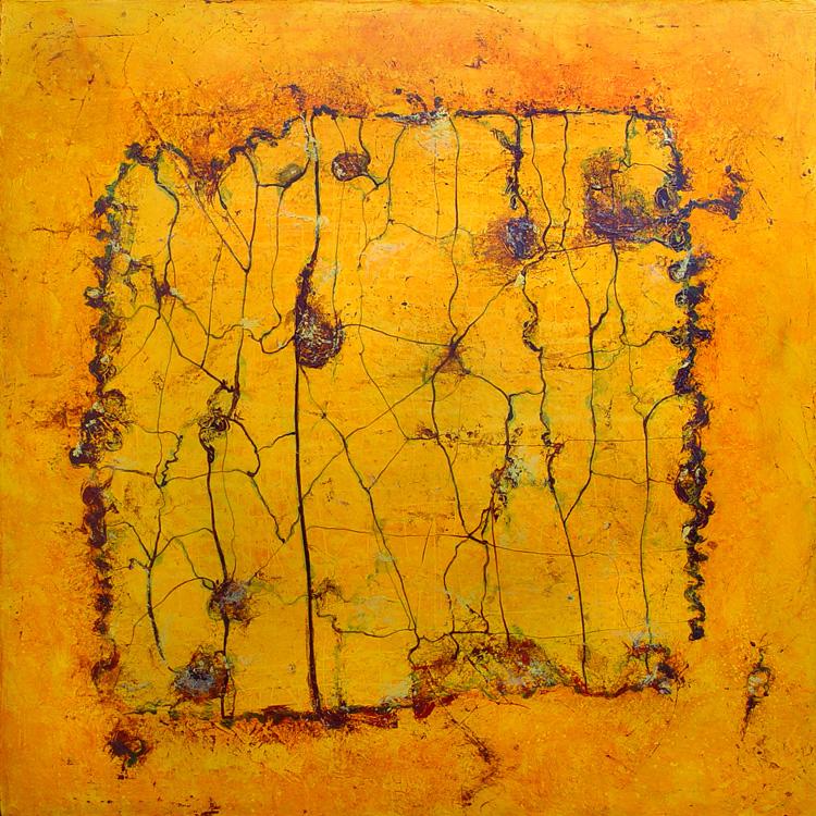 Peinture Abstraite Connexion Artiste Peintre Laurent Marre