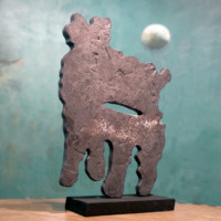 Trace I, sculpture contemporaine