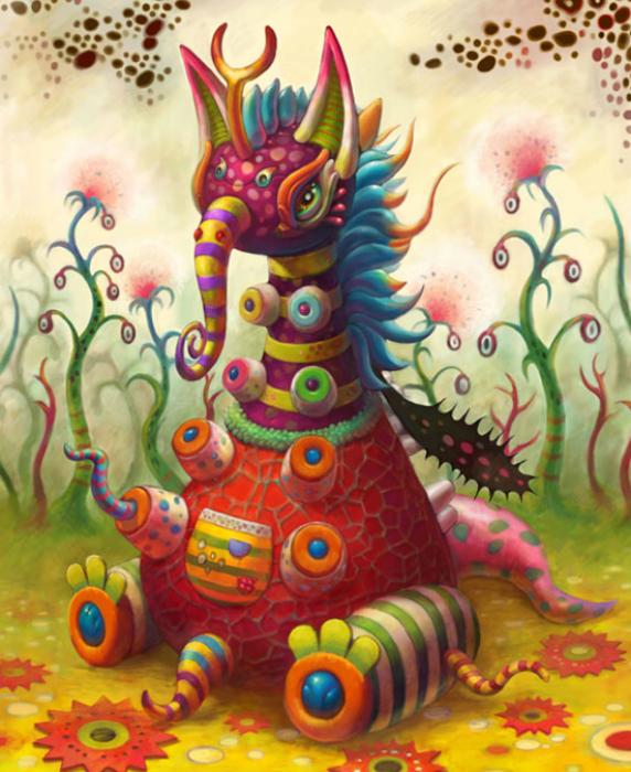 Bien-aimé Yoko d Holbachie, artiste peintre japonaise AZ01