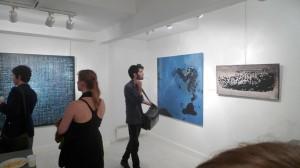 exposition de tableu contemporain