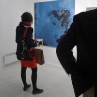 Vernissage de l'exposition «Empreinte», Galerie Hors Champs