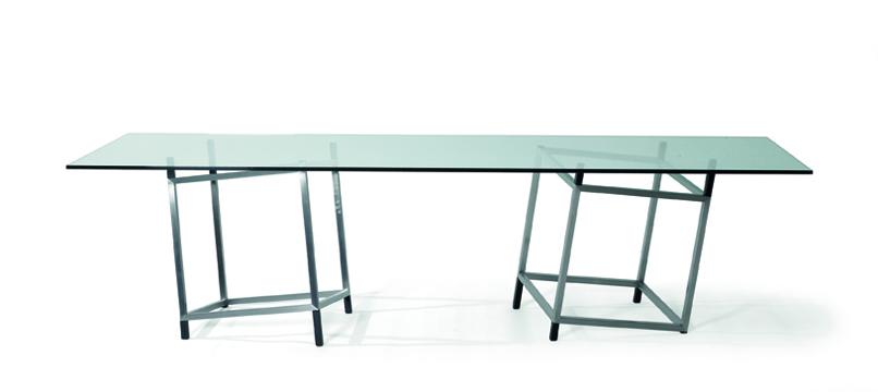 Table contemporaine de françois Morellet