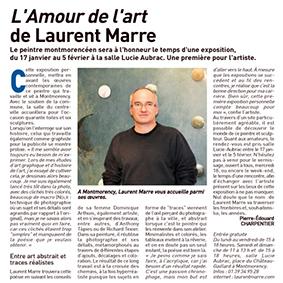 article de presse les Echos du 95, Charpentier