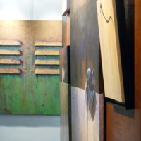 Exposition à Montmorency, vernissage