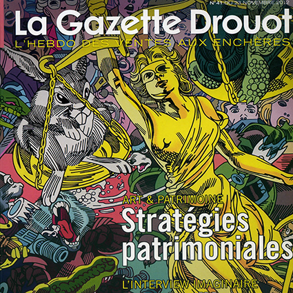 couverture de La Gazette Drouot