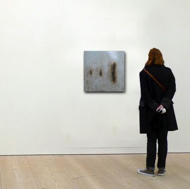 Echelle de la peinture contemporaine de l'artiste peintre Laurent marre