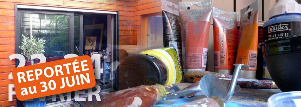 porte ouverte d'atelier artiste peintre Montmorency