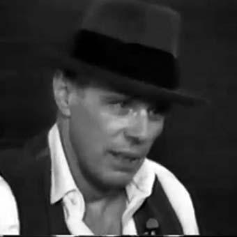 Artiste allemand Joseph Beuys fluxus