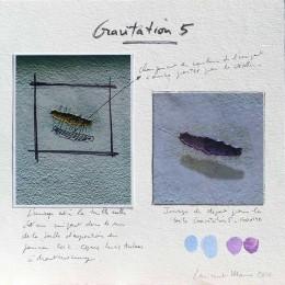 Composition de la peinture Gravitation 5