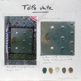 Composition de la peinture Tôle Verte
