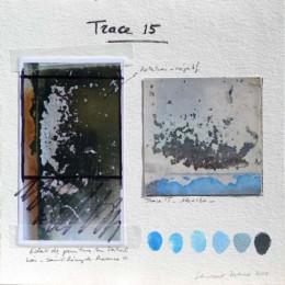 Composition de la peinture Trace 15
