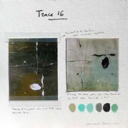 Composition de la peinture Trace 16