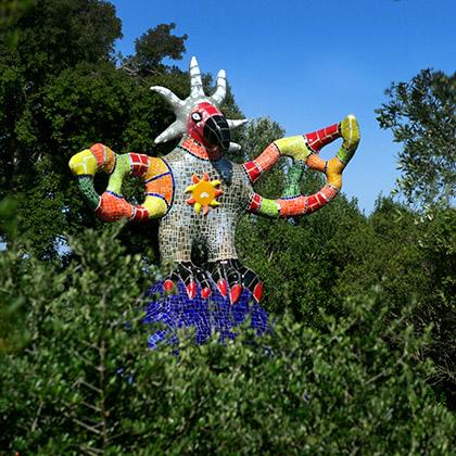 Niki de saint phalle - Jardin tarots niki de saint phalle ...