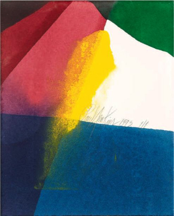 Paul Jenkins, peintre de la lumière
