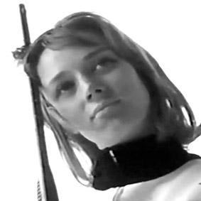 Niki de Saint Phalle, séance de tirs
