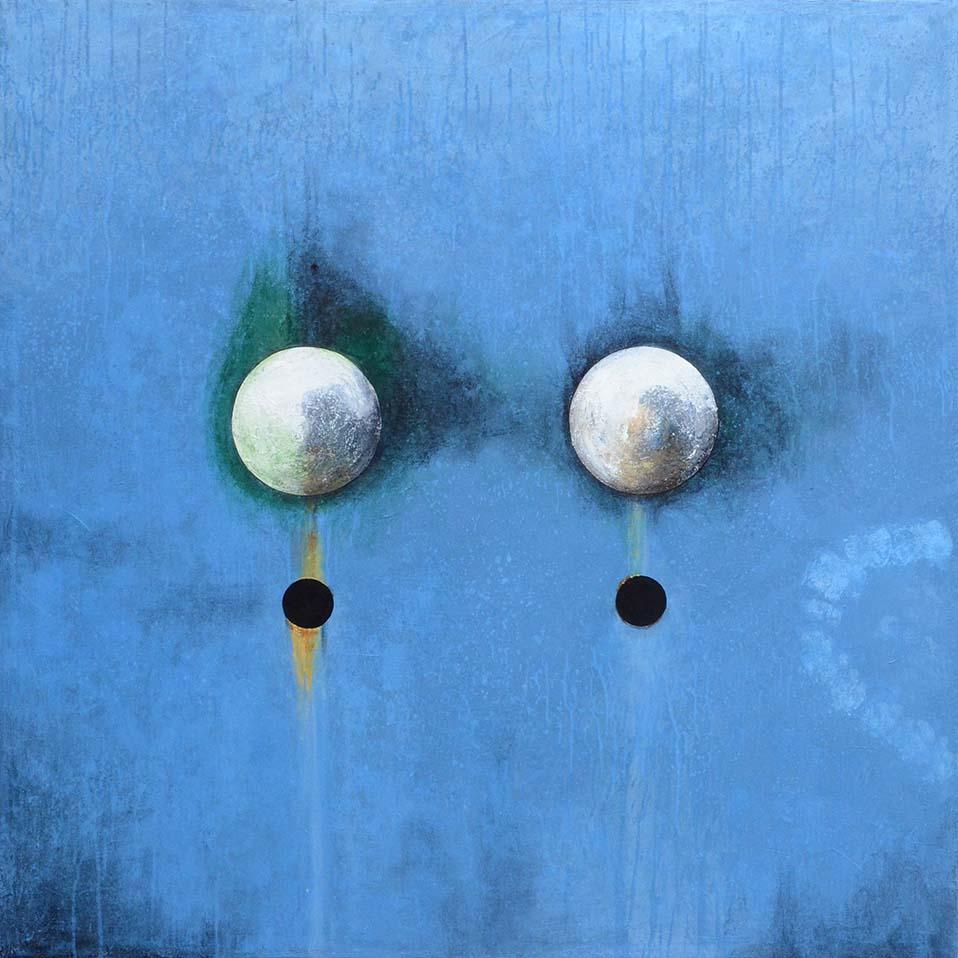 Peinture contemporaine de l'artiste peintre Laurent Marre