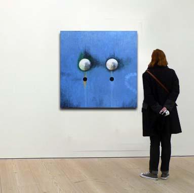 Rapport de taille de la toile au mur