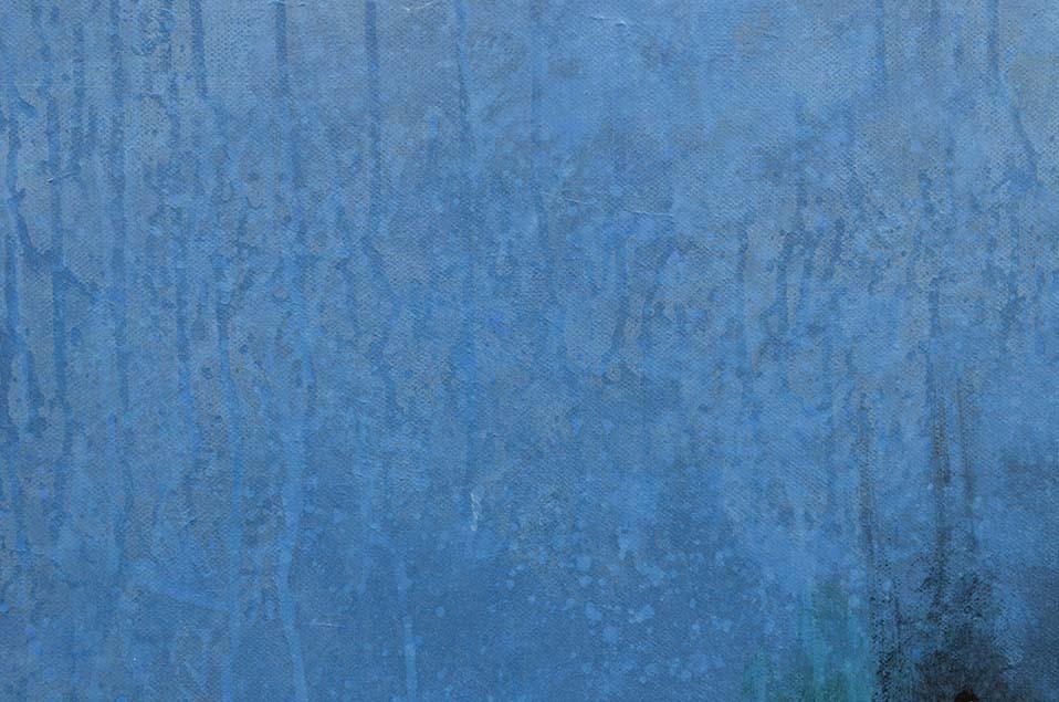 Jeu de transparence de la peinture contemporaine