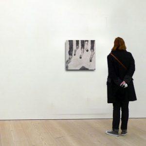 Tableau contemporain de l'artiste peintre Laurent Marre